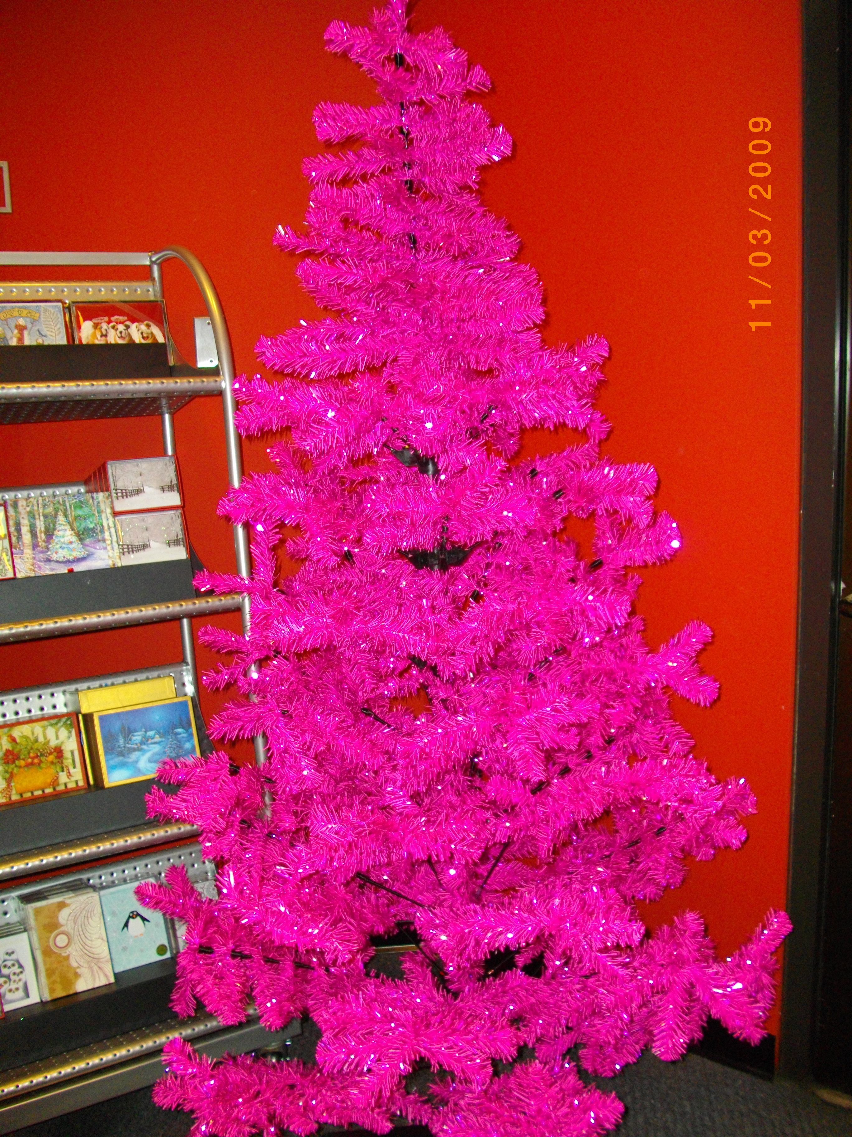 My pink-obsessed Nana would have loved this tree.